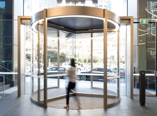 VIDEO: record K 31 Revolving Door